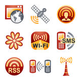Color icons for website 30 Royalty Free Stock Image