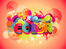 Color illustration Stock Images