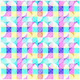 Color illustration of bright circles Royalty Free Stock Photography
