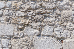 Color image - stone wall texture. Color image - ancient stone wall texture of rocks Stock Image