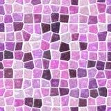 Color inconsútil superficial del rosa bebé del fondo del modelo de mosaico del mármol del piso, violeta y púrpura Imagen de archivo libre de regalías