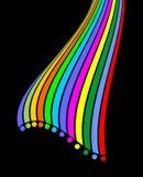 Color innova background Stock Image