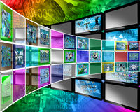 Color interface Royalty Free Stock Images