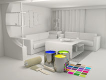 Color interior(0).jpg Royalty Free Stock Images