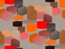 Color Interior Design Abstract. Stock Image