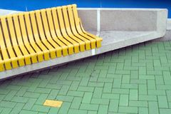 Yellow brick Stock Photos