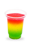 Color jelly stock photography