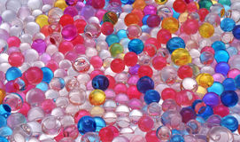 Color jelly balls texture Stock Photo