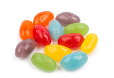 Color Jelly Beans Royalty Free Stock Photos