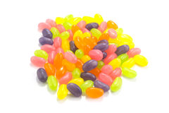 Color Jelly Beans Stock Photography