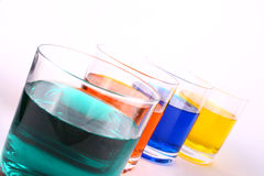 Color juice Stock Photos