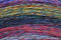 Color kabelpackar Royaltyfri Bild