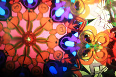 Color kaleidoscope texture Royalty Free Stock Images