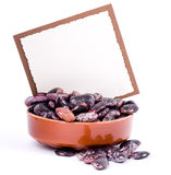 Color kidney beans in a bowl Royalty Free Stock Images