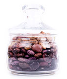 Color kidney beans in a bowl Stock Photo