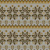 Color knitted seamless pattern. 10 eps Stock Images