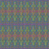 Color knitted seamless pattern. 10 eps Royalty Free Stock Images