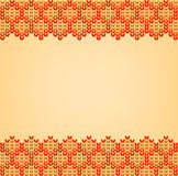 Color Knitted Wool Pattern Background Royalty Free Stock Photo