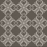 Color Knitted Wool Pattern Background Stock Images