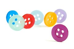 Color knobs Royalty Free Stock Photography