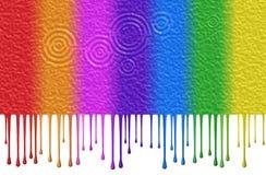 Color líquido Fotografía de archivo