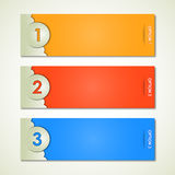 Color labels for your text royalty free illustration