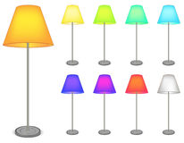 Color lamp Stock Photos