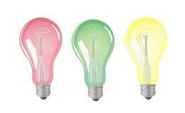 Color Lamp Royalty Free Stock Images