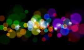 color lampor magical Royaltyfria Foton
