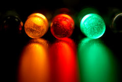 Color leds. Light-emitting diode, concept royalty free stock images