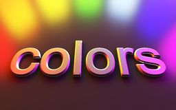 Color light Stock Image