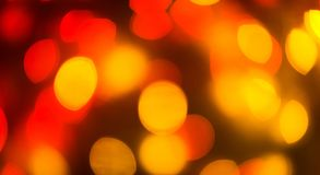 Color light blurred bokeh background, unfocused. Royalty Free Stock Photo