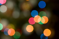 Color light blurred background unfocused. Stock Photography