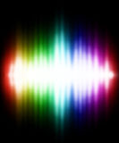 Color light effect Royalty Free Stock Photos