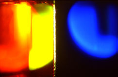 Color light sources Stock Photo