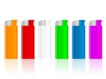 Color lighter set Stock Image