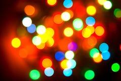 color lights Στοκ Φωτογραφίες