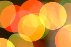 Color lights background Royalty Free Stock Photography