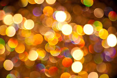 Color Lights Background. A colourful background of bright lights Royalty Free Stock Image