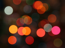 Color lights background Royalty Free Stock Photo