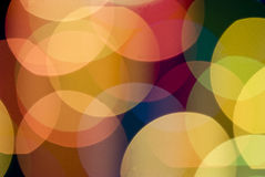Color lights blur background Royalty Free Stock Image