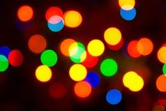 Color lights blur background Stock Image