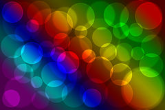 Color lights Stock Images