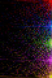 Color lights mosaic Stock Image