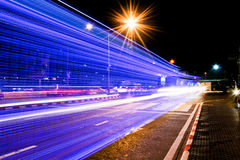 Color lights of the vehicle Royalty Free Stock Photo