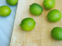 Color of limes Royalty Free Stock Photography