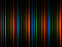 Color lines. Orange, green, black and green lines background Stock Images