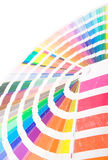 Color lines. Art making tool. isolated Royalty Free Stock Images