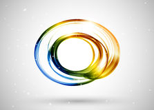 Color lines abstract background Royalty Free Stock Image
