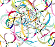 Color lines abstract background Stock Images